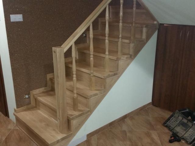Parkiety Markowicz - układanie schodów drewnianych, Siedlce